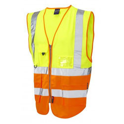 Hi Vis Superior Vest Two Tone Yellow/Orange