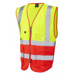 Hi Vis Superior Vest Two Tone Yellow/Red