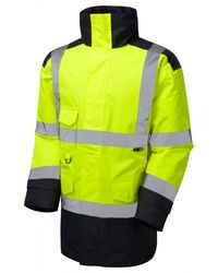 Hi Vis Warm Quilt Lined Jacket