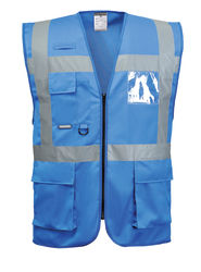 IONA EXECUTIVE VEST Royal Blue