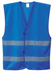 Iona Vest Lightweight Polyester Royal Blue
