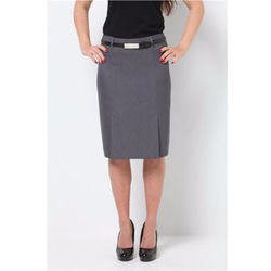 Kick Pleat Skirt