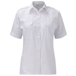 Ladies Epaulette Short Sleeve Tailored Fit Shirt
