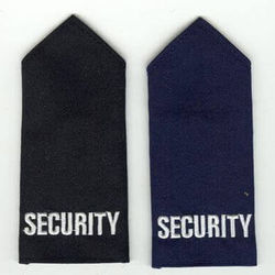 Epaulette - Embroidered SECURITY