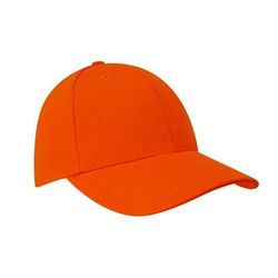 Luminescent Safety Cap Orange