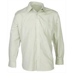 Men's Business Long Sleeve Shirt Green