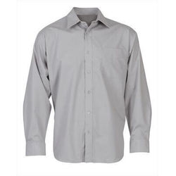 Men's Business Long Sleeve Shirt Grey
