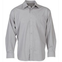 Grey Mens Business Shirts