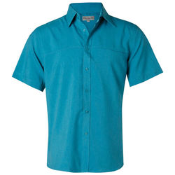 Menand39s CoolDry Short Sleeve Shirt Teal