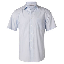 Men's Fine Stripe Short Sleeve Shirt