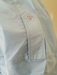 Menand39s Long Sleeve Epaulet  Shirt