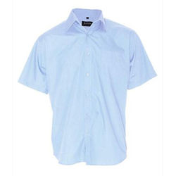 Mens Business Shirt Light Blue