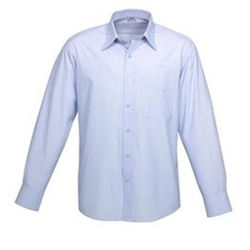 Mens Long Sleeve Ambassador Shirt Blue