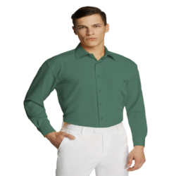Microfibre Business Shirt Emerald