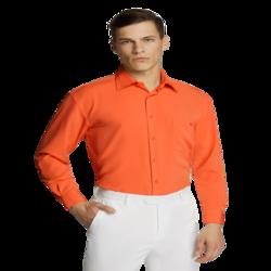 Microfibre Business Shirt Orange