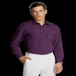 Microfibre Business Shirt Purple