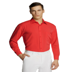 Microfibre Business Shirt Red