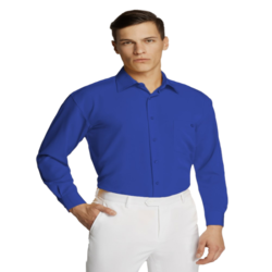 Microfibre Business Shirt Royal