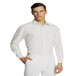 Microfibre Business Shirt White