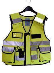Multi Pocket Vest 3M Hi Vis Tape Yellow