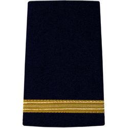 Pilot Epaulettes Navy/Gold