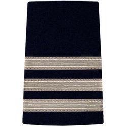 Pilot Epaulettes Navy/Silver