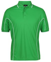 Piping Polo Pea Green/White