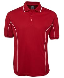 Piping Polo Red/White
