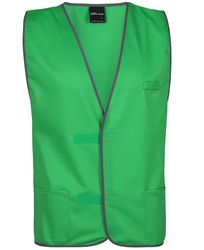 Plain Coloured Vest Green from Murray Uniforms AU