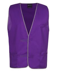 Plain Coloured Vest Purple
