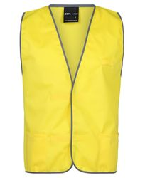 Plain Coloured Vest Yellow