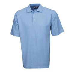 Polo Premium Fine Pique Knit Sky Blue