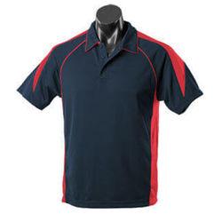 Premier Men's Polo Navy/Red