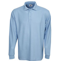 Premium Long Sleeve Pique Polo