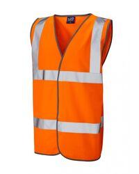 Reflective Coloured Hi Vis Vest Orange