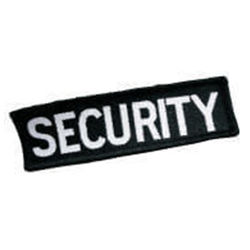 Badge - Woven SECURITY