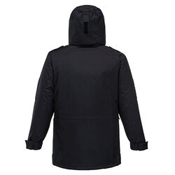 Security Jacket Black Rear