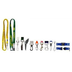 Security Lanyard With J Hook and Safety Breakaway Clip