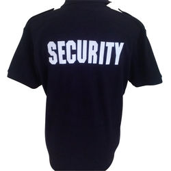Security Polo With Epaulets
