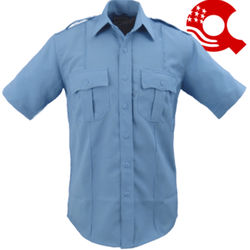 Security Uniform Short Sleeve Shirt Light Blue