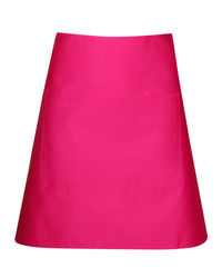 Short Waist Apron Hot Pink from Murray Uniforms AU