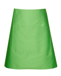 Short Waist Apron Lime from Murray Uniforms AU