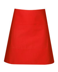 Short Waist Apron Red from Murray Uniforms AU