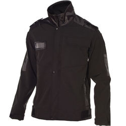 Softshell Epaulette Jacket Black