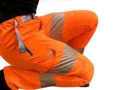 Starcross Womenand39s Stretch Work Trouser Orange