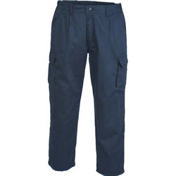 Trousers   Combat Cargo Navy