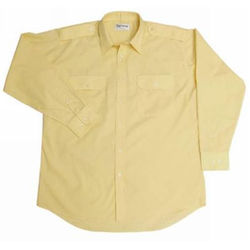Epaulettes Versatile Shirt - Long Sleeves - Special colour