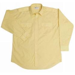 Epaulettes Versatile Shirt - Long Sleeves - Special colour