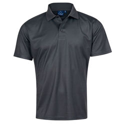 Verve Polo Men's Charcoal
