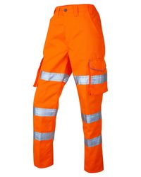 WOMENS CARGO TROUSERS Orange